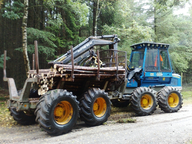 Forwarder Harvester  3